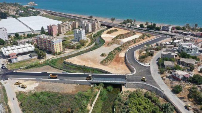 mersin buyuksehir makes the final touches on lamos bridge