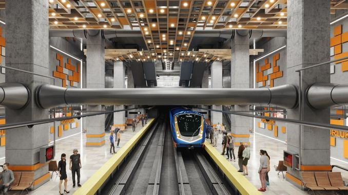 Kada će biti postavljeni temelji metroa Mersin?