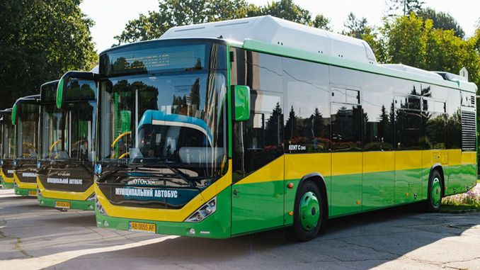city delivery with natural gas from otokar to ukraine