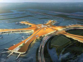 Новый аэропорт Пекина достиг миллиона пассажиров