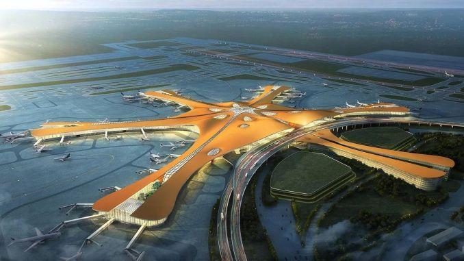 Noul aeroport din Beijing ajunge la milioane de pasageri