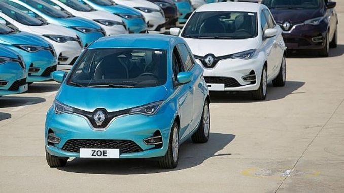 Renault-Zoe-Vertrag zwischen Renault Mais und Tiktak . unterzeichnet