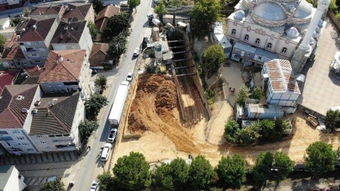 A child and a worker injured in the subway construction in sancaktepe