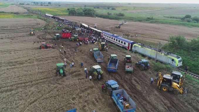 tcdd corlu will pay million TL compensation to the person injured in the train accident