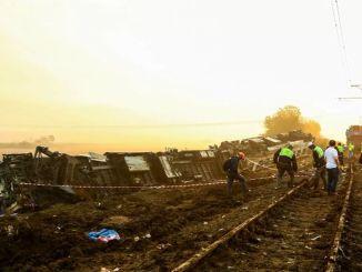 Izjava o isplaćenim naknadama za žrtve nesreće u vozu u Corlu sa tcdd -a