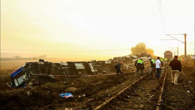 Statement about compensations paid for victims of corlu train accident from tcdd