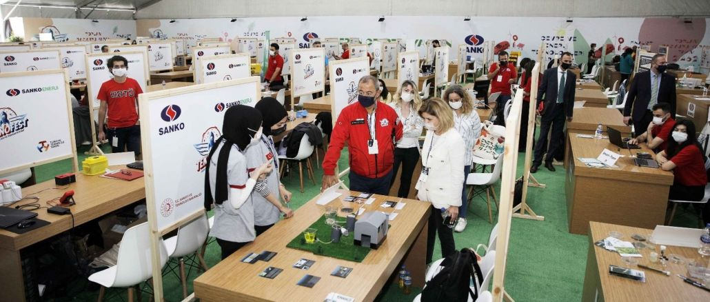 Environmental projects compete at teknofest