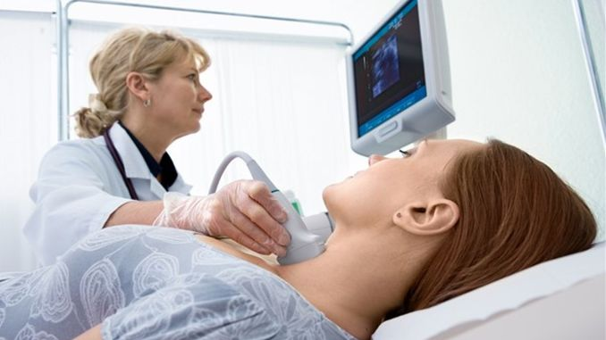 The incidence of thyroid cancer increased by percent