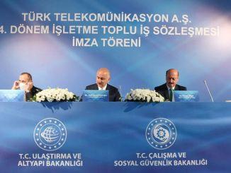 พนักงานของ Turkish Telecom ขึ้นค่า Lira ที่ดี