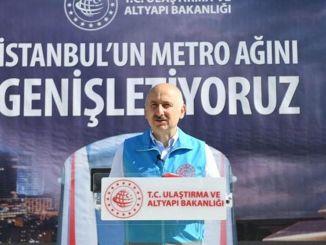 kementerian transportasi tidak akan mentransfer metro yang sedang dibangun di istanbul ke ibby