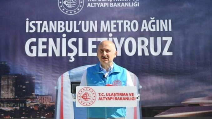 the ministry of transport will not transfer the metros under construction in istanbul to ibby