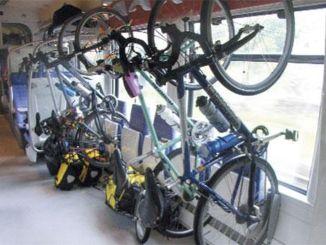 YHT幹線和支線列車的自行車運輸規則