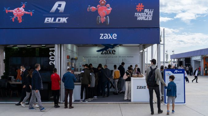 zaxen's state-of-the-art d printers made their global launch at teknofest