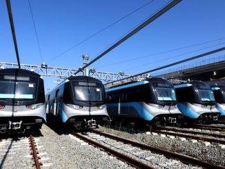 Präsident Imamoglu hat seine Fotos geteilt Hier sind die neuen U-Bahn-Fahrzeuge von Istanbul