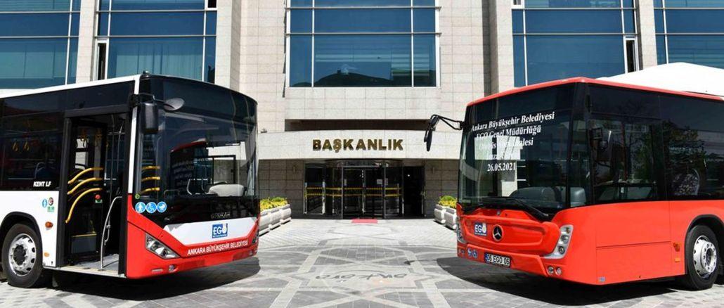 أنقرة تحصل على حافلات جديدة بعد سنوات