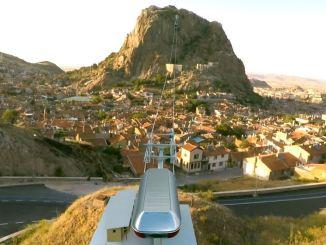 سيتم إجراء مناقصة التلفريك إلى قلعة أفيون بضمان الركاب