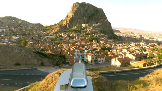 Seilbahnausschreibung zum Schloss Afyon wird mit Passagiergarantie durchgeführt