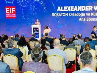 شارك akkuyu النووي eif في مؤتمر الطاقة العالمي ونزيهة