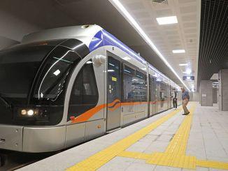 Antalya Stage Rail System startete mit großem Interesse seine erste Reise