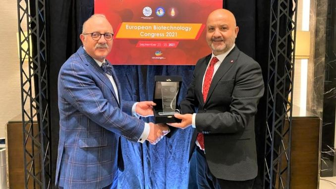 proud award from the european biotechnology association to the turkish native pcr kit