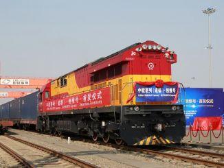 عدد رحلات قطار الصين أوروبا تجاوز ألف رحلة