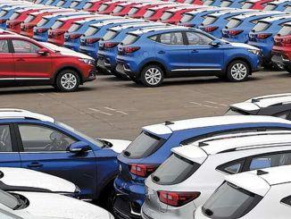 تجاوزت مبيعات السيارات الشهرية في الصين المليون