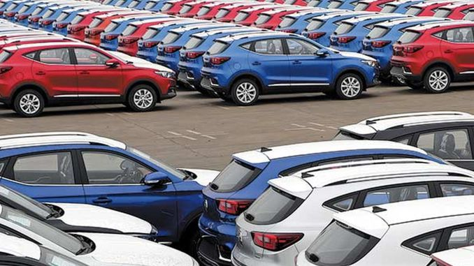 Monthly car sales in China exceeded a million