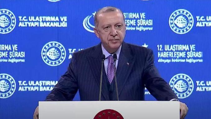قاطرة كهربائية وطنية بشرى سارة من الرئيس أردوغان