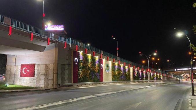 modern touch to state garden bridge junction
