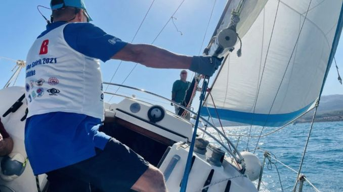 sailing races of the spirit for the disabled were held in silifke