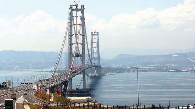 den franske giganten bestemte seg for å trekke seg fra osmangazi -broen