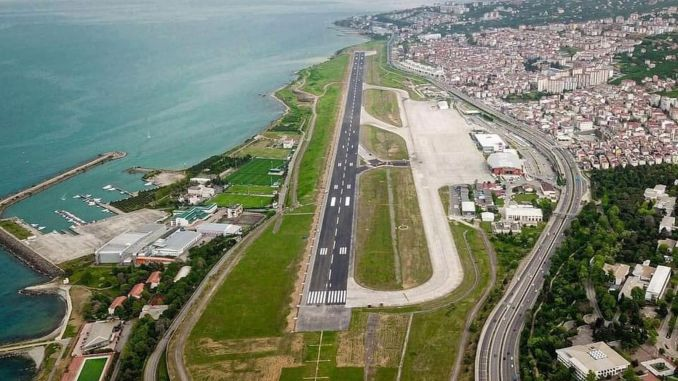 Der Flughafen Trabzon, der letztes Jahr repariert wurde, wurde für die Notfallversorgung wieder geschlossen.