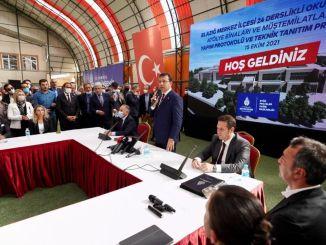 Ibb will rebuild the school damaged in the Elazig earthquake