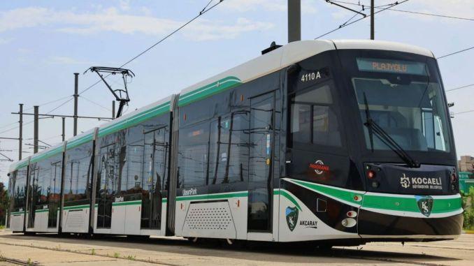 Som et resultat af udbuddet om forberedelse af izmit golcuk sporvognsprojekt forundersøgelse