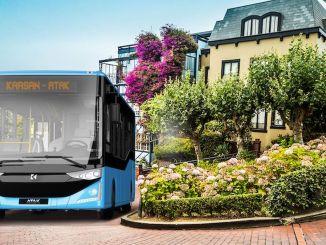Karsanovi brodski napadni dizelski autobusi olakšat će transport Mersina