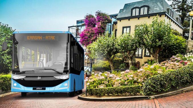 ستعمل حافلات كارسان الهجومية التي تعمل بالديزل المترية على تسهيل عملية النقل في مرسين