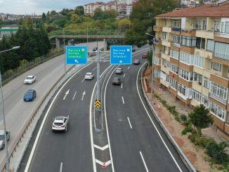 Beim Straßenbahnprojekt Kurucesme wurde eine wichtige Schwelle überschritten, eine neue Straße wurde eröffnet
