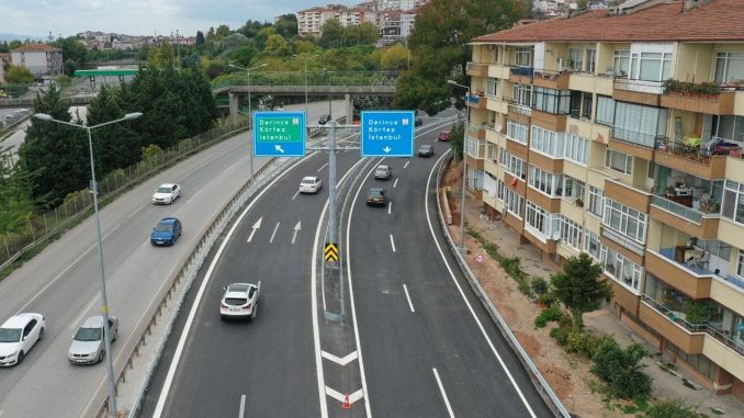 An important threshold has been passed in the Kurucesme tram project, a new road has been opened