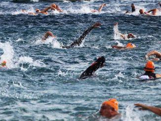 بدأت تطبيقات سباقات السباحة لماراثون مرسين للسباحة سول بومبيوبوليس