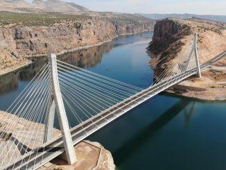 Millionen Fahrzeuge passierten die Proportionalbrücke