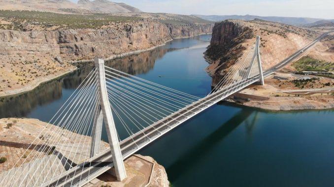 million vehicles passed through the proportional bridge