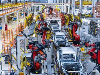 زادت نسبة الإنتاج في صادرات السيارات في المائة