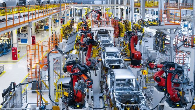 production in automotive increased by percent, export percent