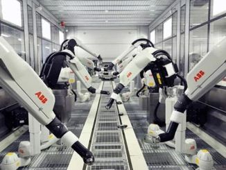 robot factory that makes robots in shanghai will start production