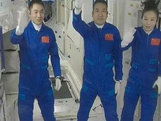 posada shenzhoua ušla je u osnovni modul