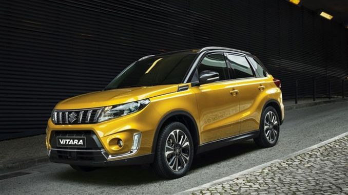 Ten sales applications for suzuki vitara hybrid once again launched