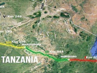 دخلت tcdd tanzania في مناقصة استشارات تشغيل وصيانة السكك الحديدية