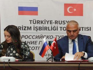 Potpisan zajednički turistički akcijski plan između Turske i Rusije