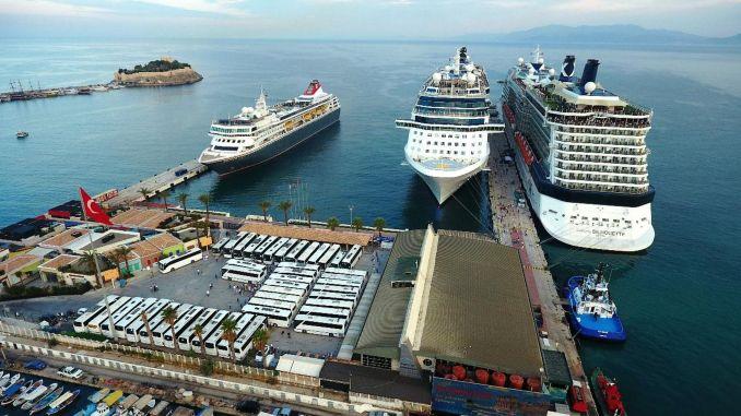 Les ports turcs reviendront également fortement sur le marché du tourisme de croisière
