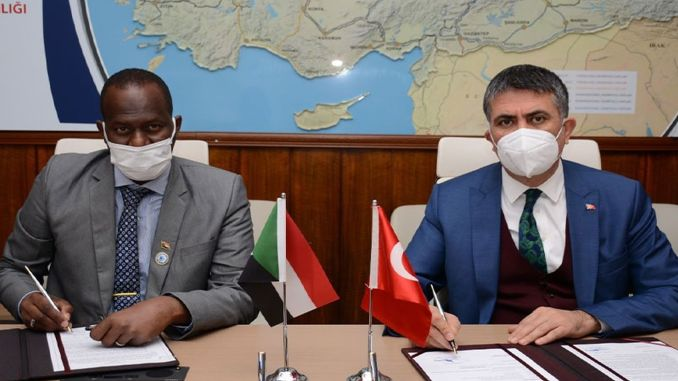 cooperation in turkey and sudan railways